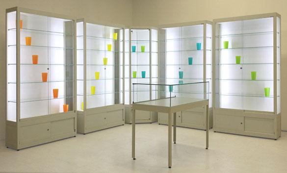 LED-vitrines
