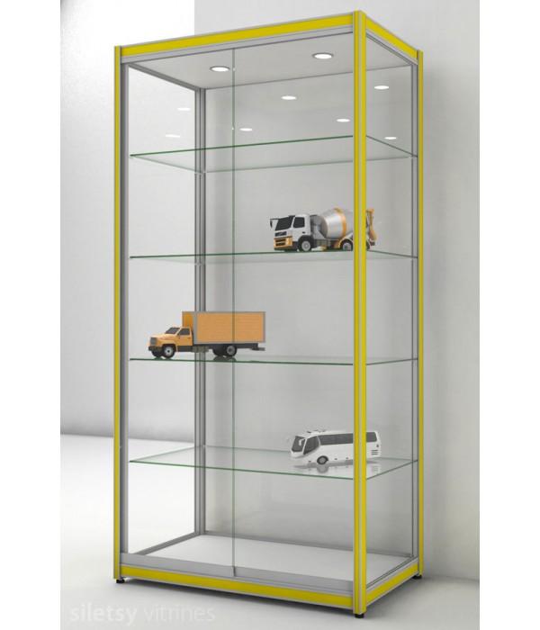 Vitrinekast FX-15 100x60x200cm