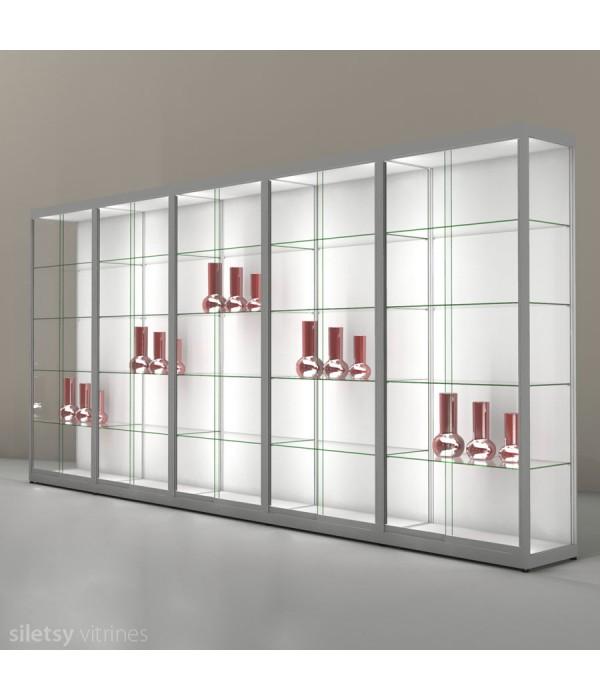 LED-vitrine PR14N5L 503x44x198cm