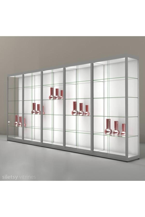 LED-vitrine PR13N5L 503x35x198cm
