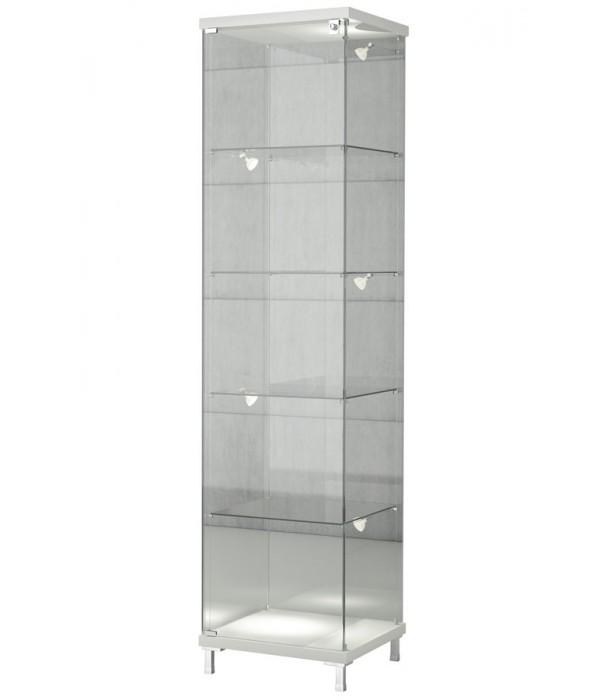 Design vitrinekast 45x45x190cm
