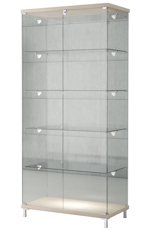Design vitrinekast 85x45x190cm