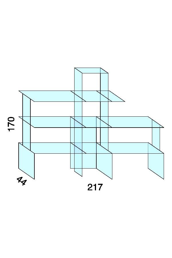 Opstelling met 1 set M + 1 set E