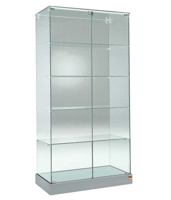 Glasvitrine 93x46x180cm