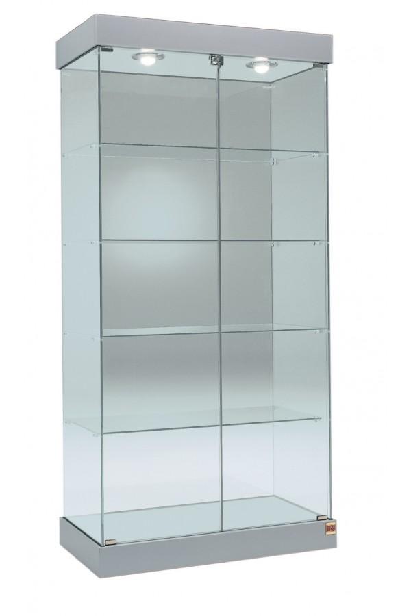 Glasvitrine 73x46x188cm