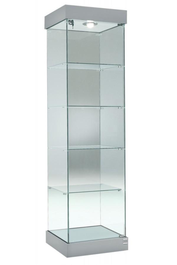 Glasvitrine 53x46x188cm