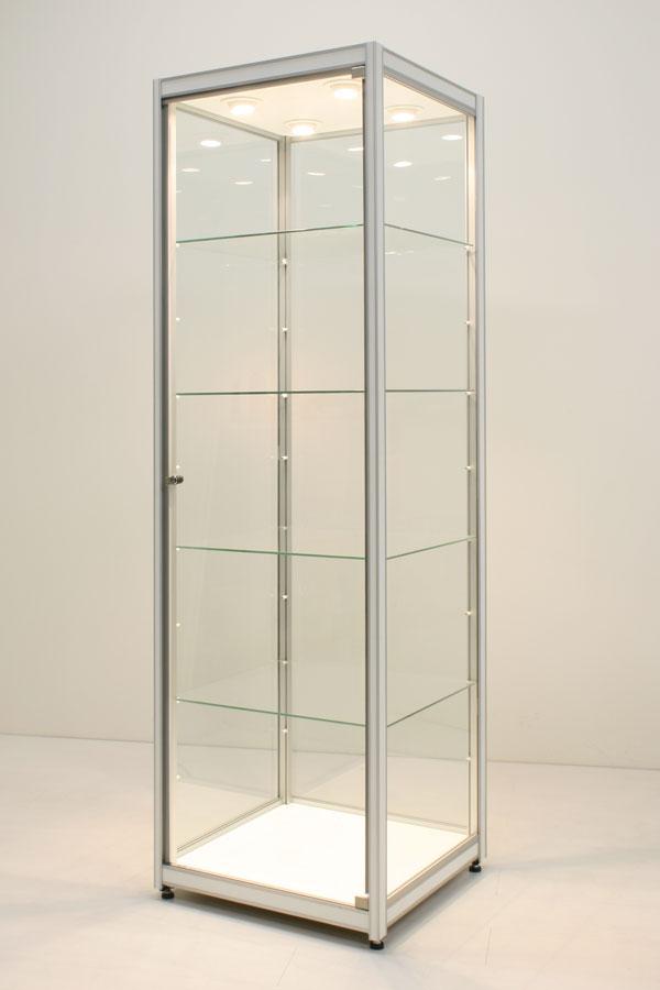 Huur van vitrine FX-07 60x60x200cm