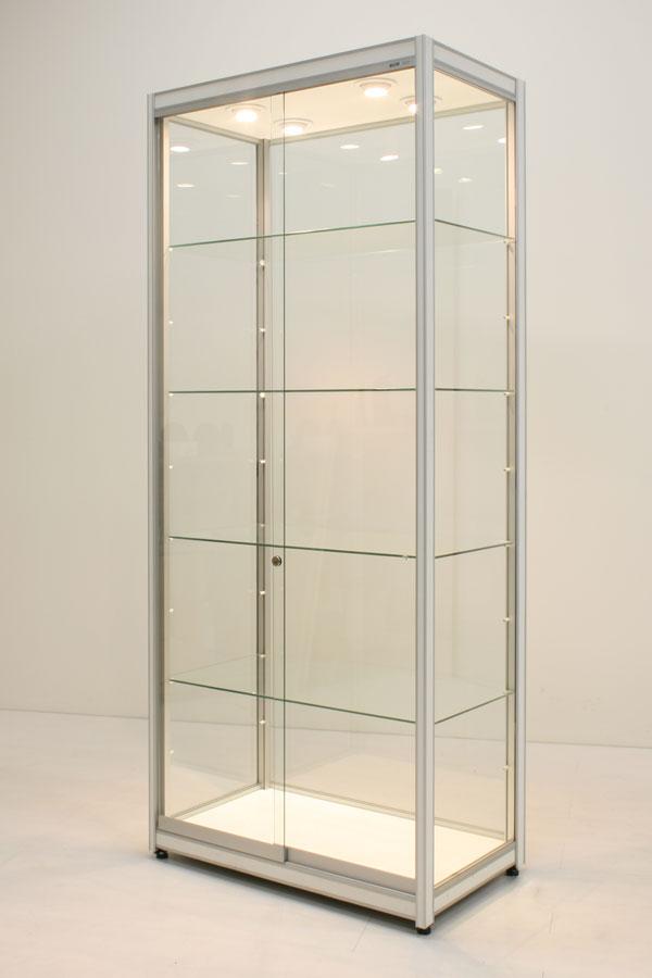 Huur van vitrine FX-10 83x49x200cm