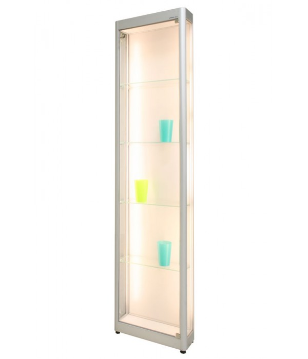 LED-vitrine PR-01/AL 45x17x198cm