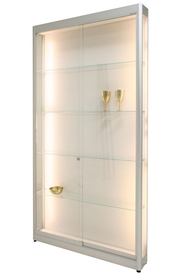 LED-vitrine PR-12/AL 103x17x198cm