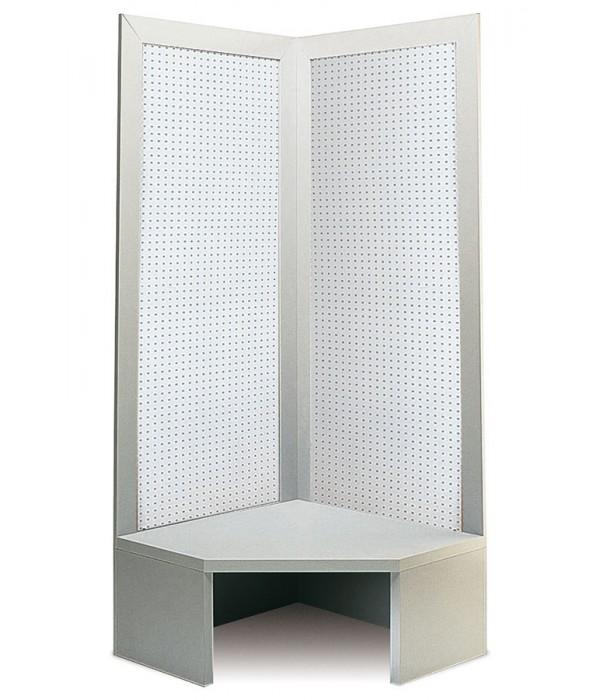 Perfo-hoek-display 90x90x216cm